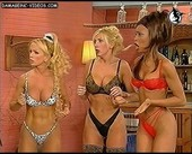 Busty showgirls on tv