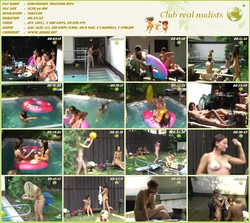 Girlfriends Together - Video family nudism - (RbA 720x540 - 1.5Gb)