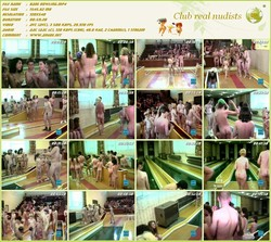 Bare Bowling - (RbA 720x540 - 1.5Gb) Family nudism of video