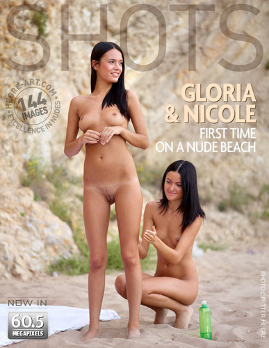Hegre-Art - Gloria & Nicole - First Time on a Nude Beach
