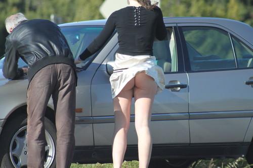 upskirt booty